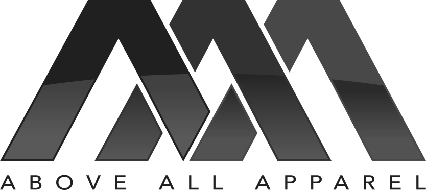 above all apparel logo gray png