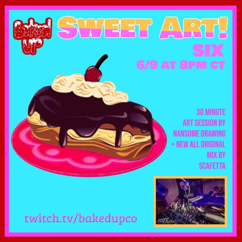 Sweet Art 6 Twitch