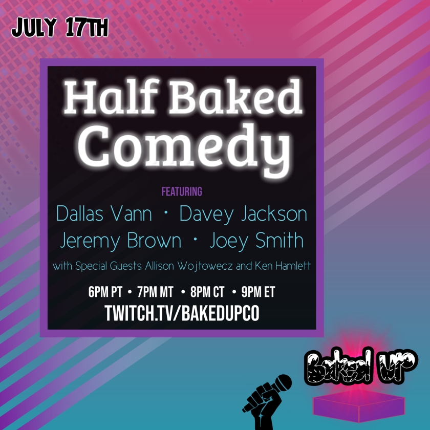 Copy of Half Baked Comedy 3