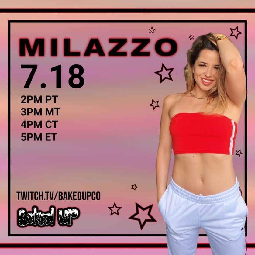 MILAZZO LIVESTREAM 7-18