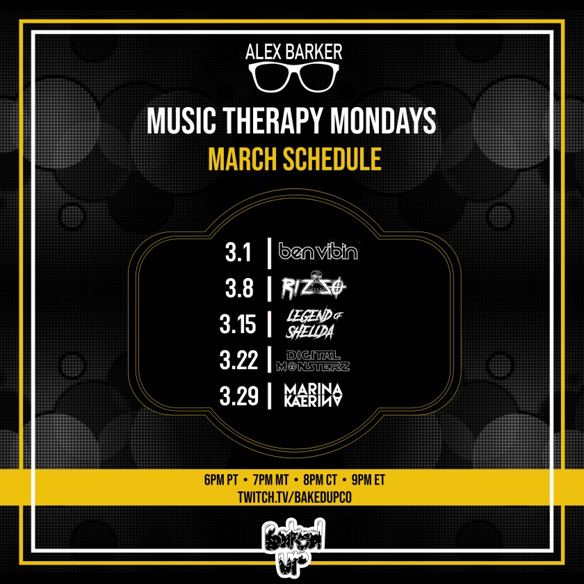 March Music Therapy Mondays