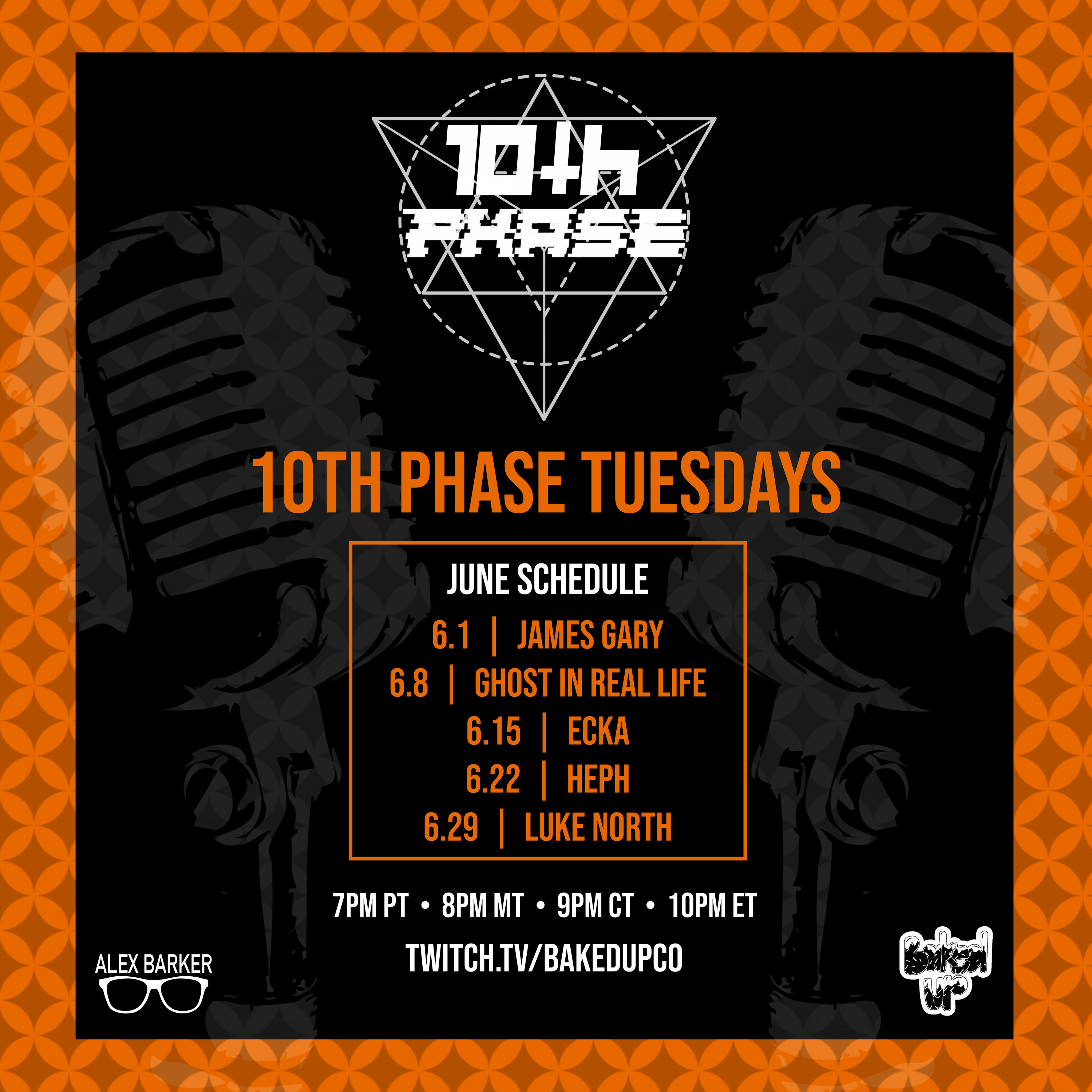 10TH PHASE june schedule