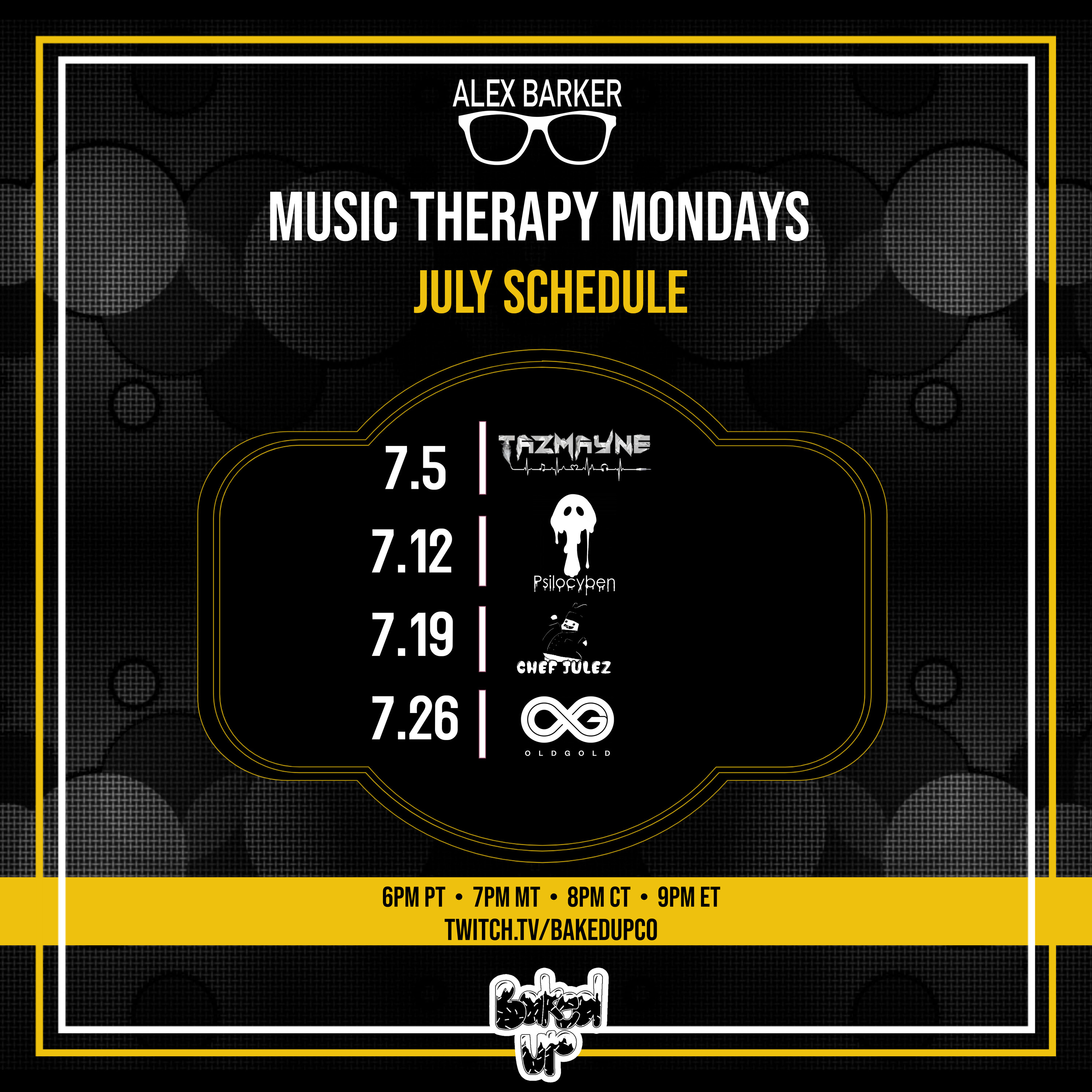 Copy of May Music Therapy Mondays
