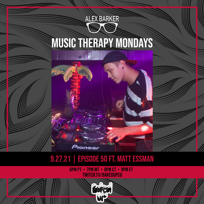 Music Therapy Monday Ep 50 Matt Essman